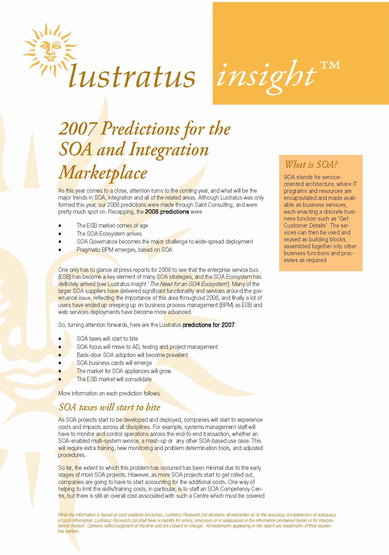 Pages from 2007 Predictions for SOA and Integration