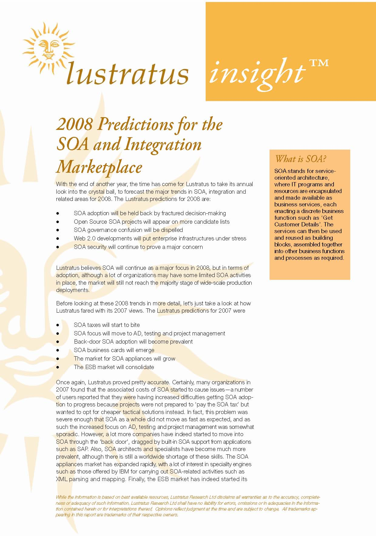 Pages from 2008 Predictions for the SOA and Integration Marketplace