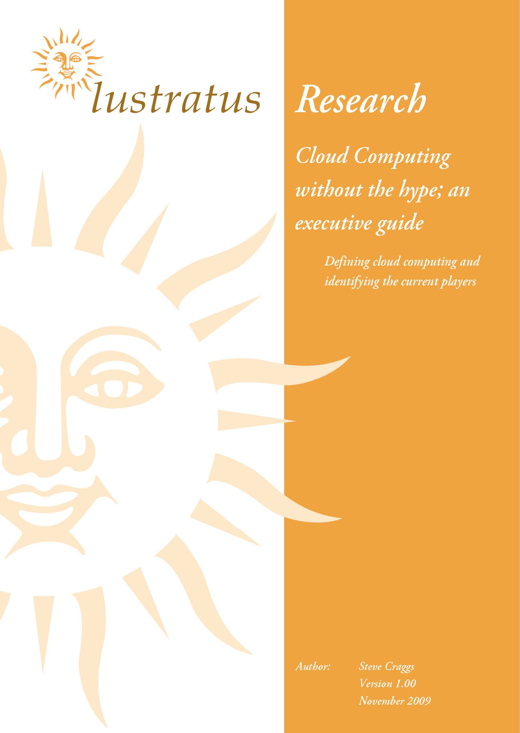 Pages from Cloud Computing Without the Hype - An Executive Guide (1.00 Slideshare)