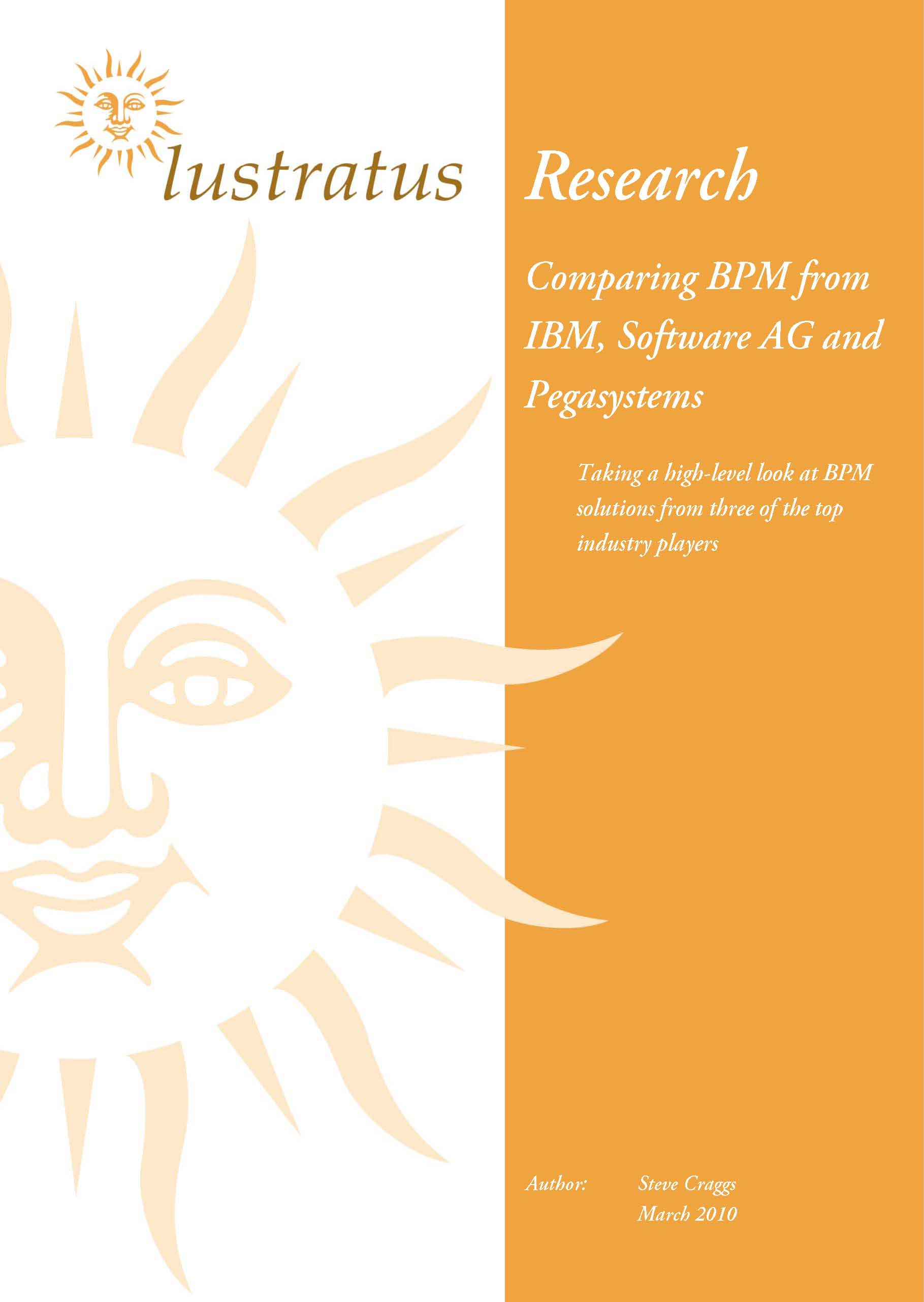 Pages from Comparing BPM from IBM, Software AG and Pegasystems