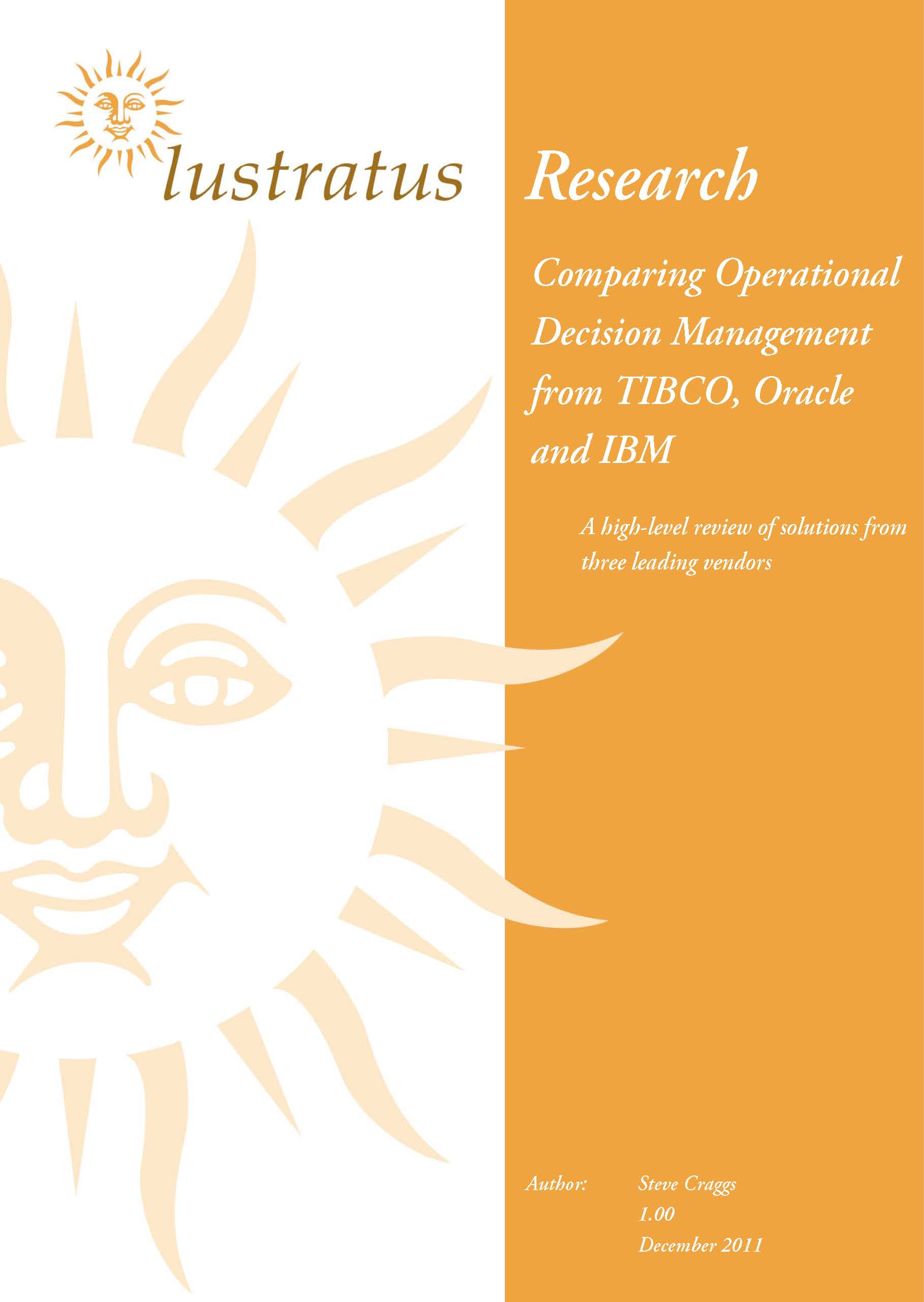 Pages from Comparing ODM from TIBCO, Oracle and IBM