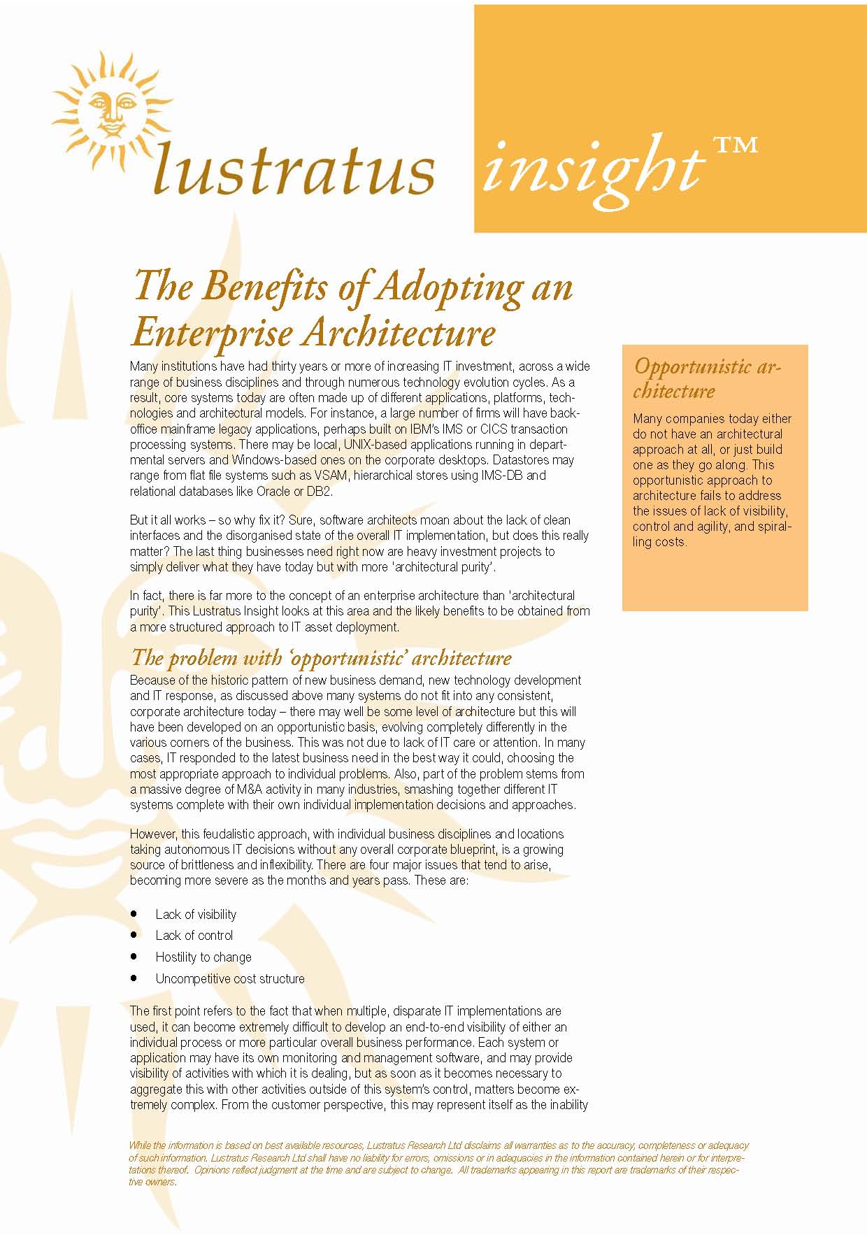Pages from Enterprise Architecture 1.10