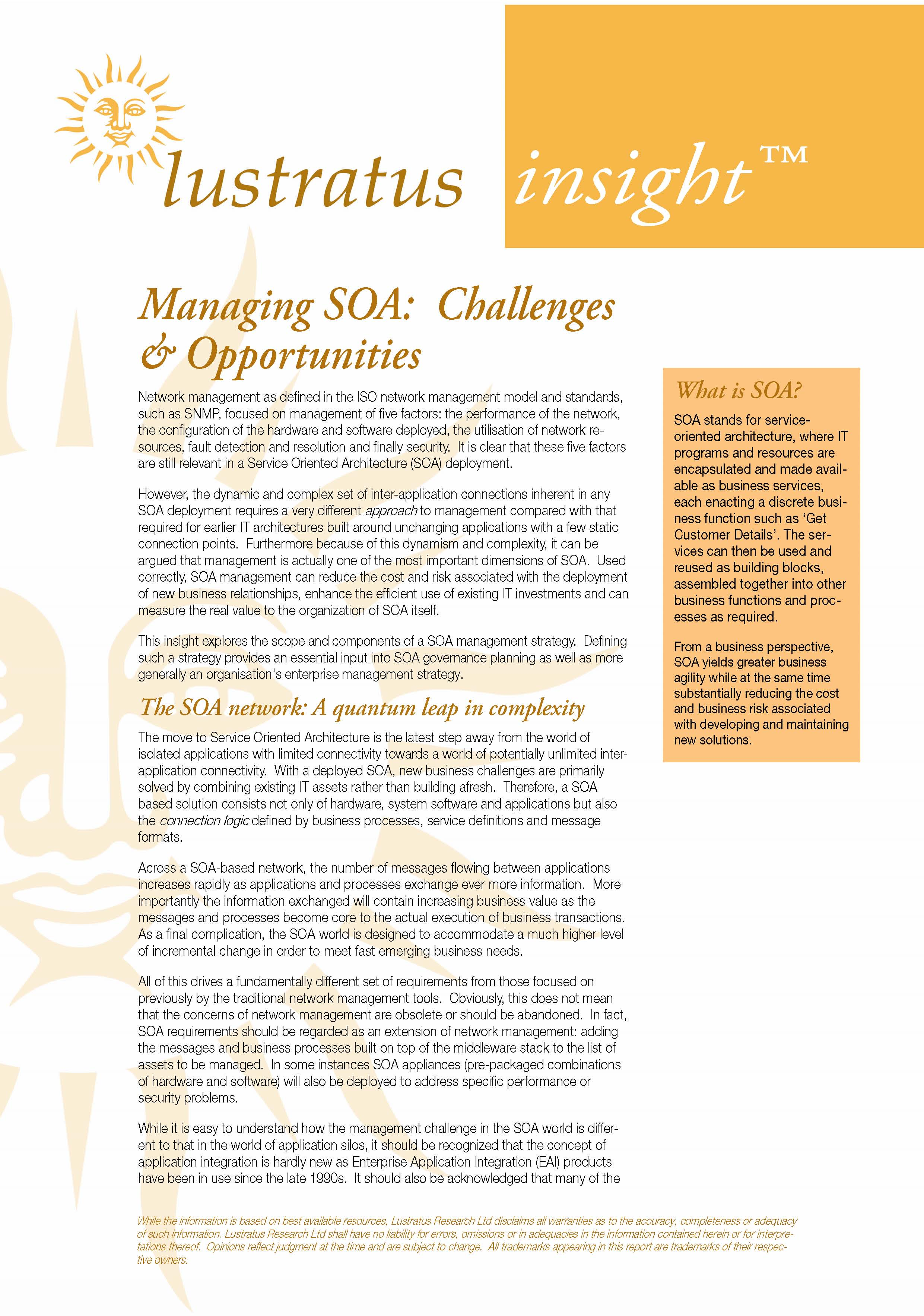 Pages from Managing SOA - Challenges and Opportunities