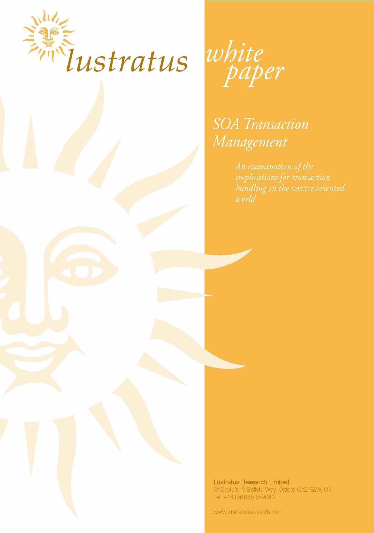 Pages from SOA Transaction Management