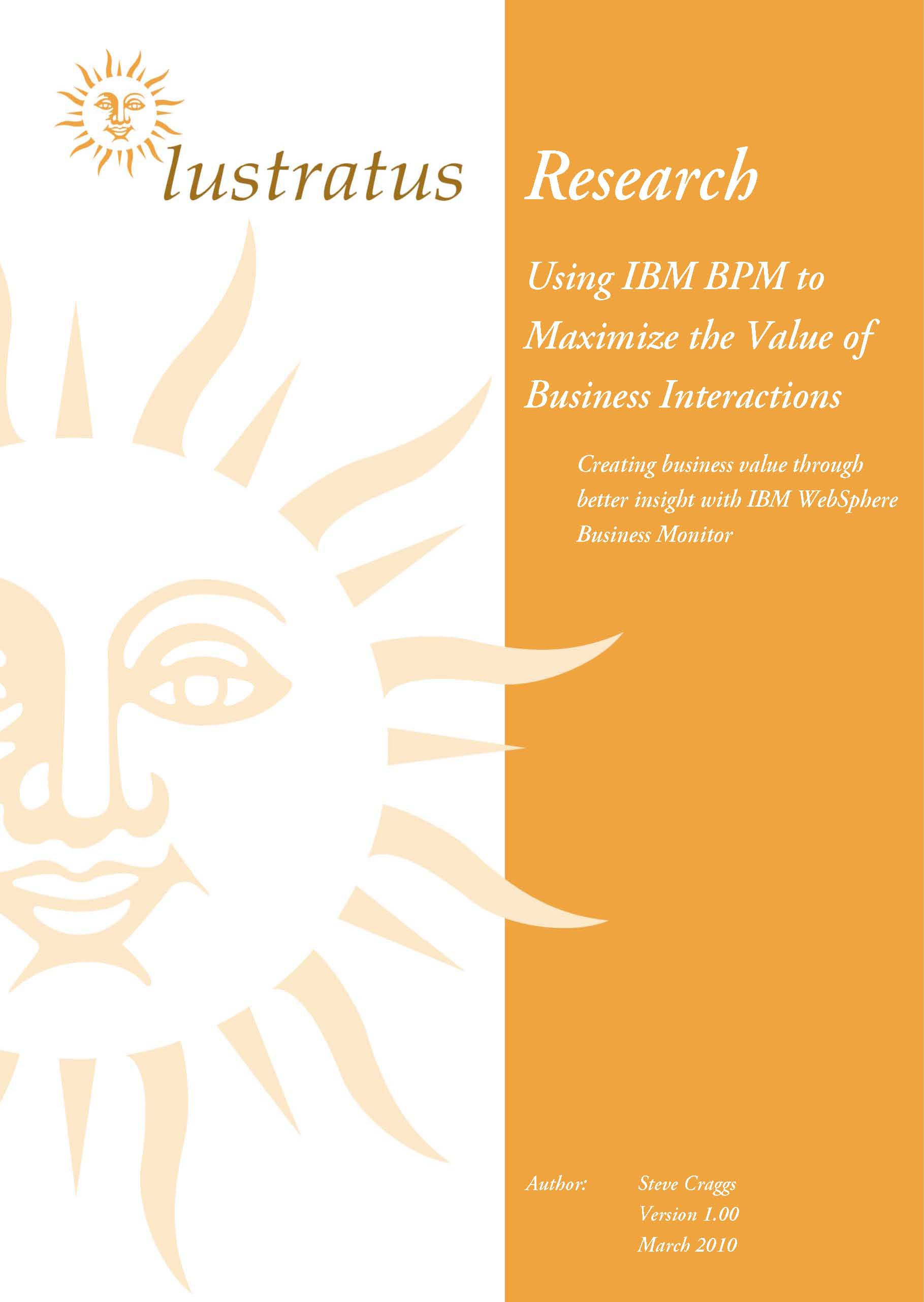 Pages from Using IBM BPM to maximize the value of business interactions
