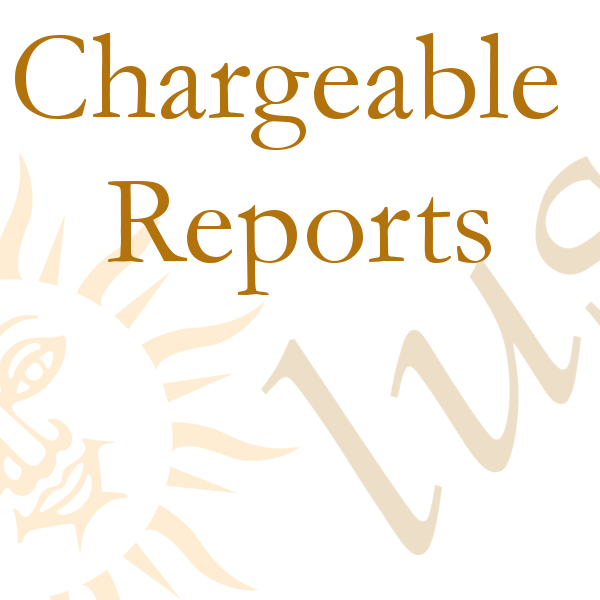 Chargeable Reports